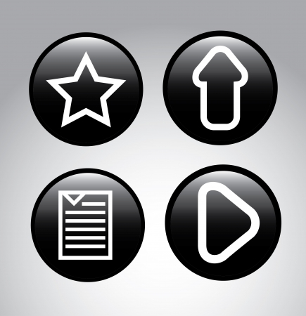web icons over gray background vector illustration illustration