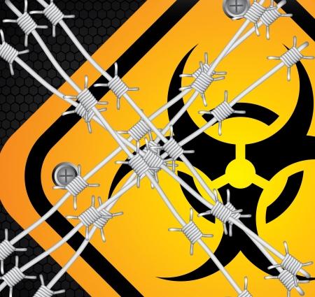 caution design over black background vector illustration  Stock Illustration - 22169131