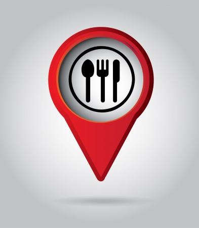 signaling: illustration of restaurant menu with cutlery vector illustration