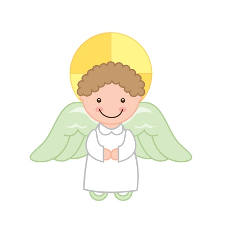 angel design over white background vector illustration  illustration