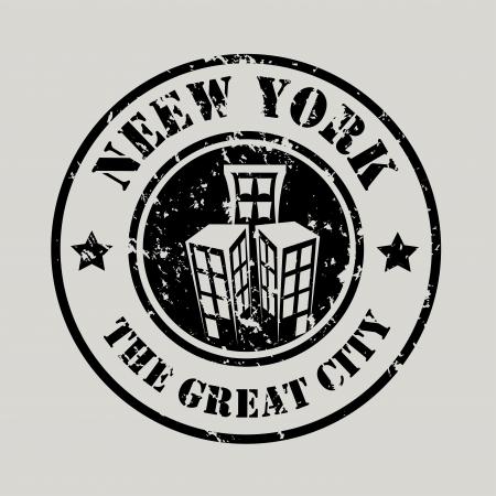 midtown: new york  design over gray background vector illustration