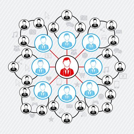conectividade: Conectividade pessoas com mais de