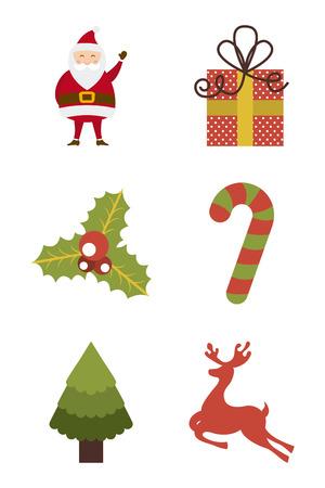 christmas design over white background vector illustration Stock Vector - 22196905