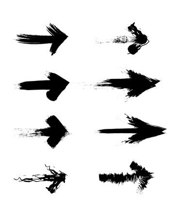 arrows design  over white background vector illustration Illustration