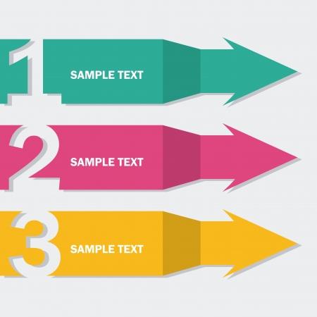 arrows infographics  over blue background vector illustration Illustration