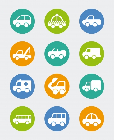 cars design over blue background vector illustration  Stock Vector - 22311027