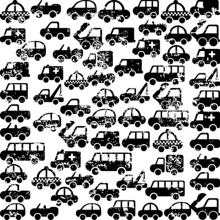 axles: cars design over white background vector illustration Illustration