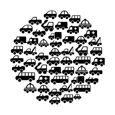 cars design over white background vector illustration Stock Vector - 22311037