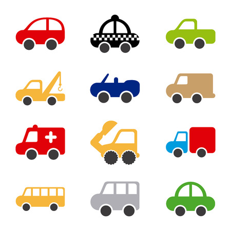 cars design over white background vector illustration Stock Vector - 22311039