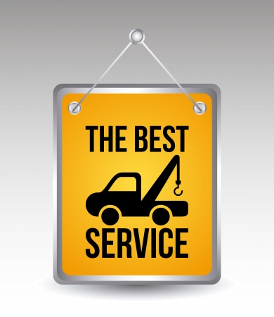 car services over gray background vector illustration  Vector