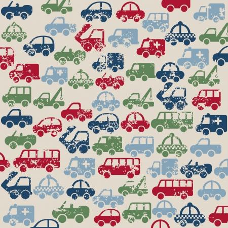coachwork: cars design over beige background vector illustration  Illustration