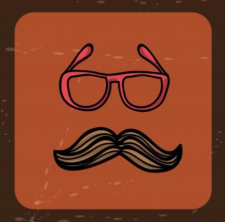 brig: hipster design over brig background vector illustration