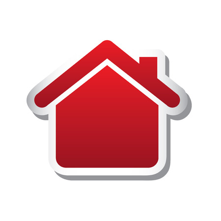 home protection: real estate icons over white background vector illustration