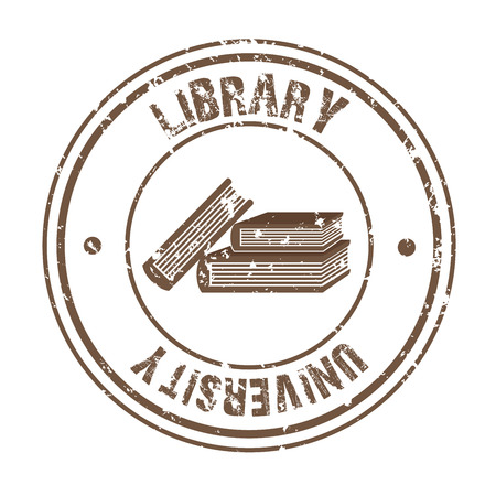 signifier: library university over white background vector illustration