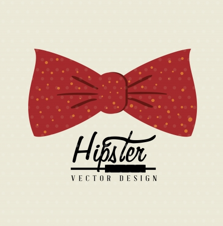 hipster design over pink background vector  illustration   Vector