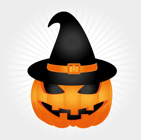 halloween icons over white background vector illustration Vector