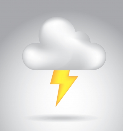cloud icon over gray background vector illustration  Vector