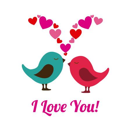 bird icon: love design over white background vector illustration