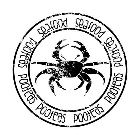 sea food: sea food design over white background vector illustration