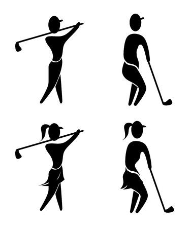 caddie: golf design over white background vector illustration Illustration