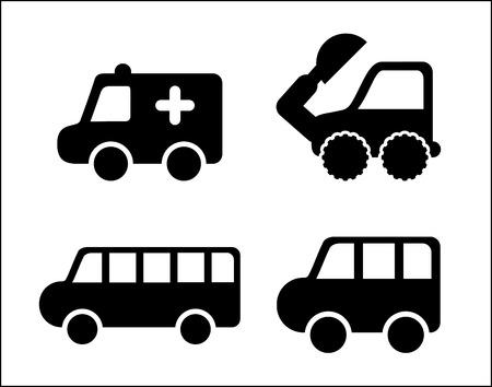 cars design over white background vector illustration Stock Vector - 22464627