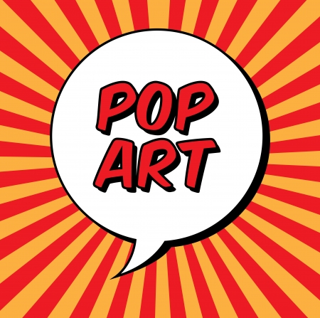 pop art explosion over grunge background. vector illustration Stock Vector - 22959650
