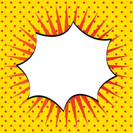 imagination comics icon over yellow background vector illustration