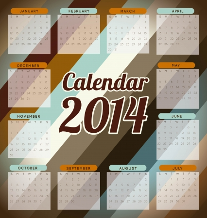 calendar design  over wooden   background  vector illustration Stock Vector - 22959463