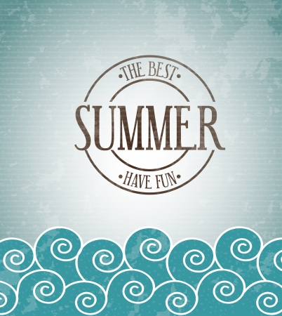 wather: summer design over sky background vector illustration    Illustration