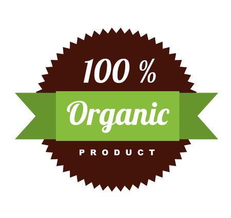 organic design over white background vector illustration    Vector