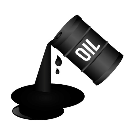 oil industry over white background vector illustration Stock Vector - 23109990