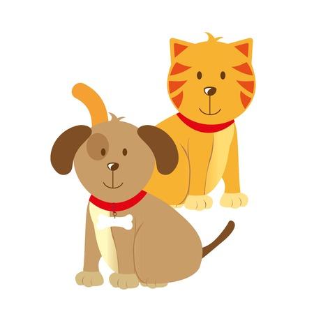 pets design  over white background vector illustration  Illustration