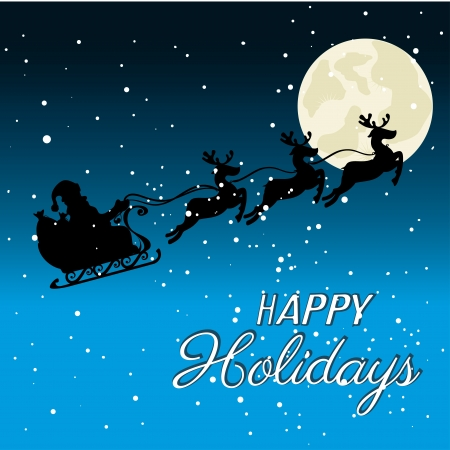 sky night: holidays design over sky night background vector illustration Illustration
