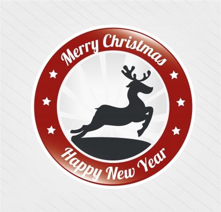 ne: christmas design over background vector illustration