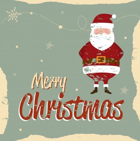christmas design over vintage background vector illustration Vector