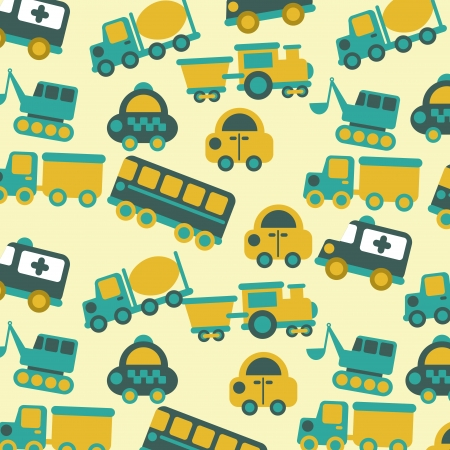 axles: transport design over cream background vector illustration  Illustration