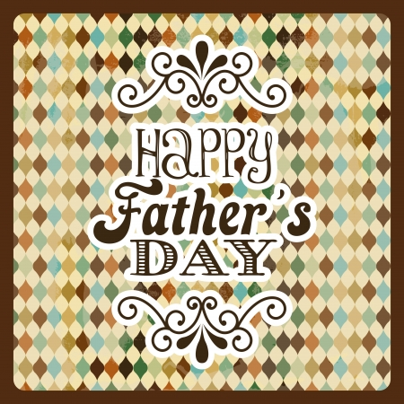 fathers day design over abstract background  vector illustration Vector