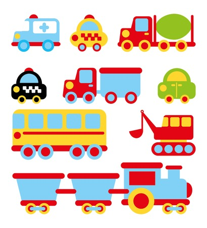 transport design over white background vector illustration  Vector