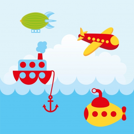 axles: transport design over sky background vector illustration