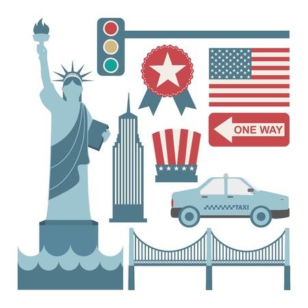 new york design over white background vector illustration Vector