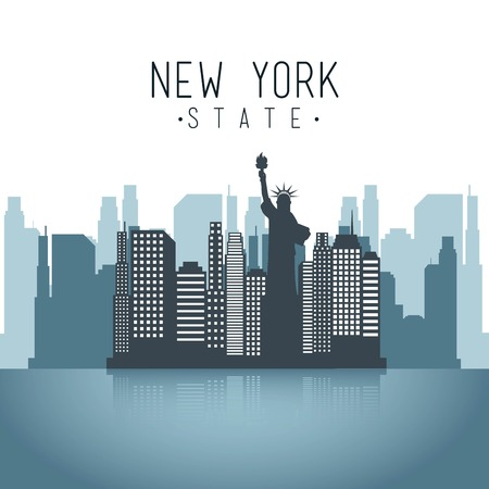 new york design over white background vector illustration Vector