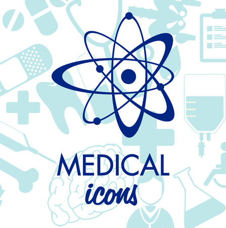medical design  over white background vector illustration   Vector