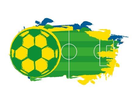 brazil design over white background vector illustration Illustration