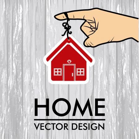 sustained: real estate design over gray background vector illustration   Illustration