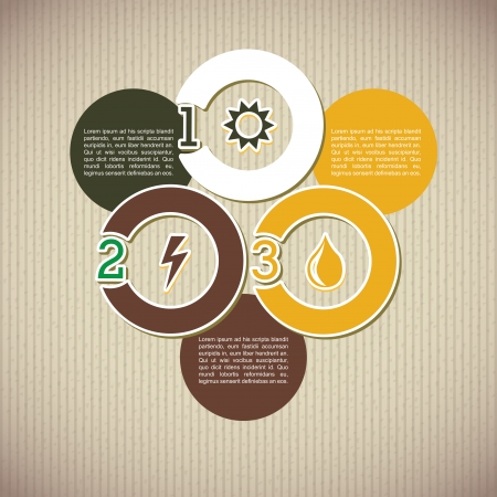 determinants: infographics design over lineal  background vector illustration  Illustration