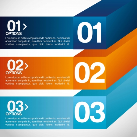 determinants: infographics design over gray  background vector illustration  Illustration