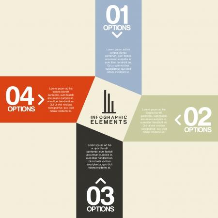 determinants: infographics design over pink   background vector illustration  Illustration