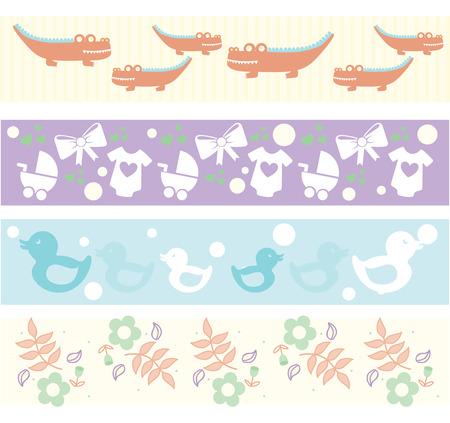 baby design over white background vector illustration  Vector
