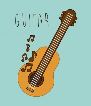 musical design over blue background vector illustration Stock Vector - 24071246