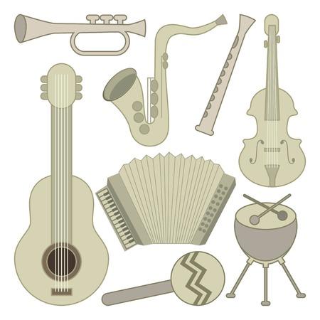 musical design over white background vector illustration Stock Vector - 24071247